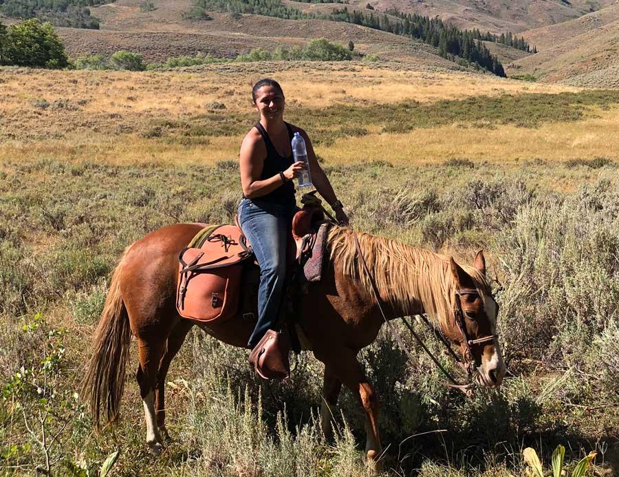 horseback riding tours Lava Hot Springs Idaho
